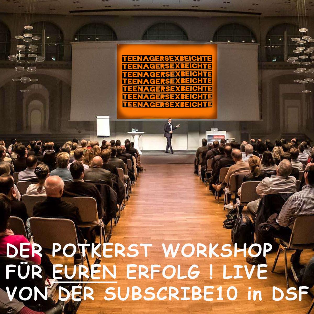 s03e17 agiles portcasting (mit folie, werkshop) Live von DSF